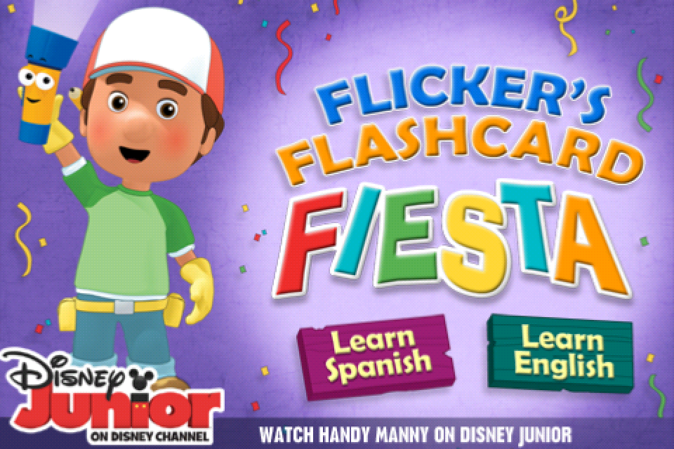 Handy Manny Flicker's Flashcard Fiesta screenshot #1