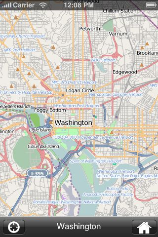 iMapsPro - Washington screenshot #2