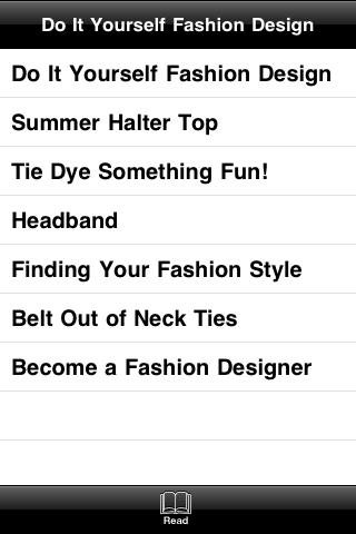 Do It Yourself Fashion Design screenshot #4