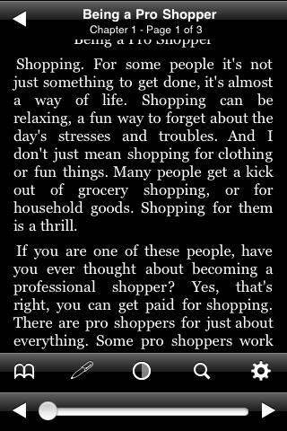 Being a Pro Shopper screenshot #2