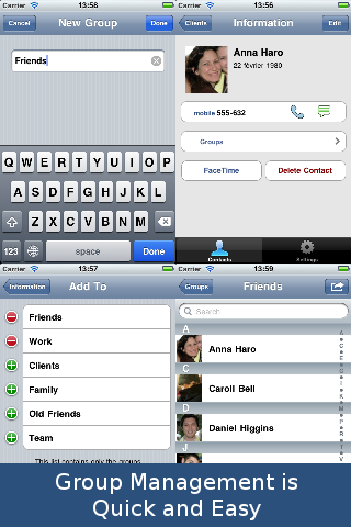 GroupsXL: SMS and Email screenshot #2