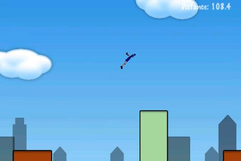 Rope'n'Fly Lite screenshot #2