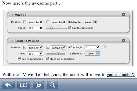 An Unofficial GameSalad Textbook screenshot 5