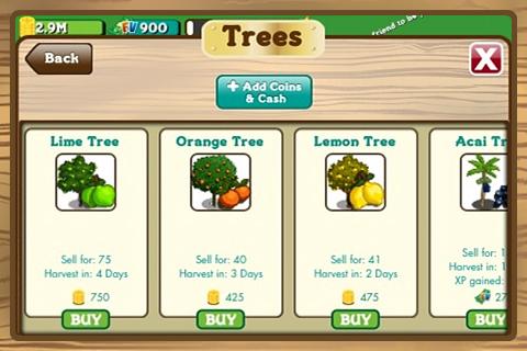 FarmVille by Zynga screenshot 4