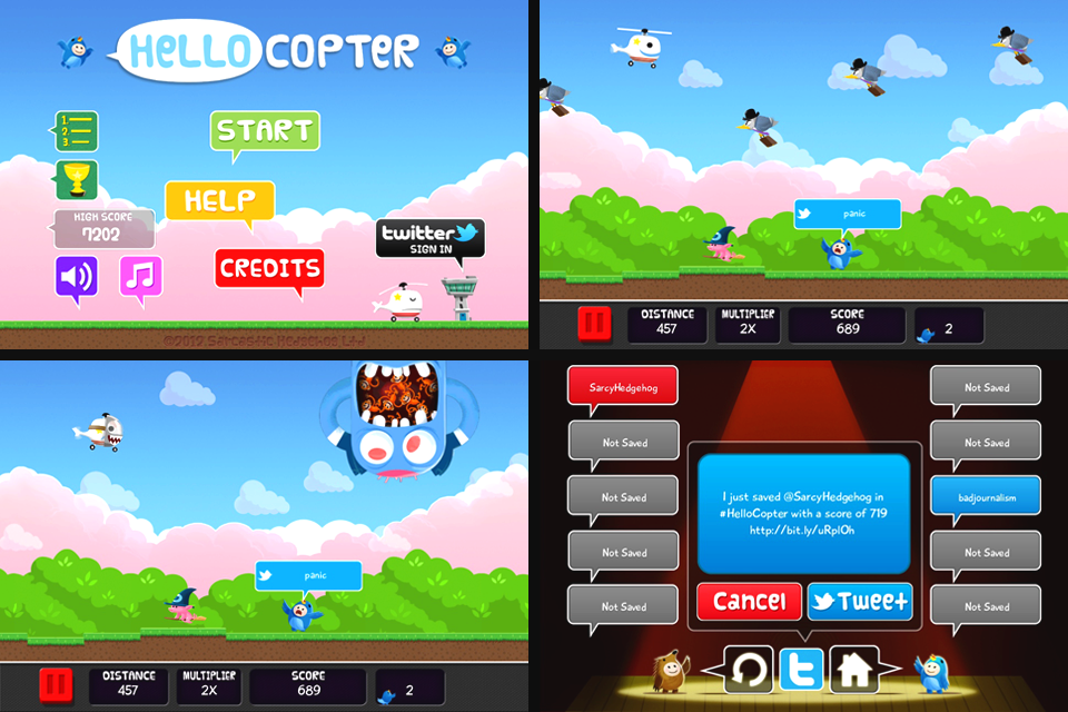Hello Copter Screenshot