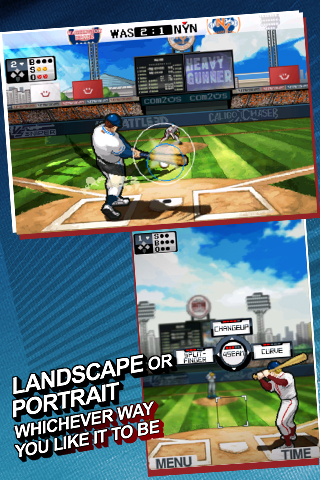 9 Innings: Pro Baseball 2011 Free screenshot #3