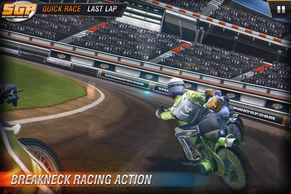 Speedway GP 2011 Lite screenshot #4