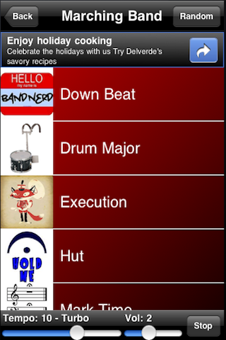 Marching Band Drum Loops Screenshot
