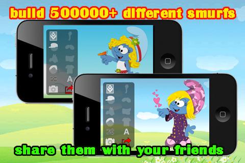 Smurf Builder screenshot 1