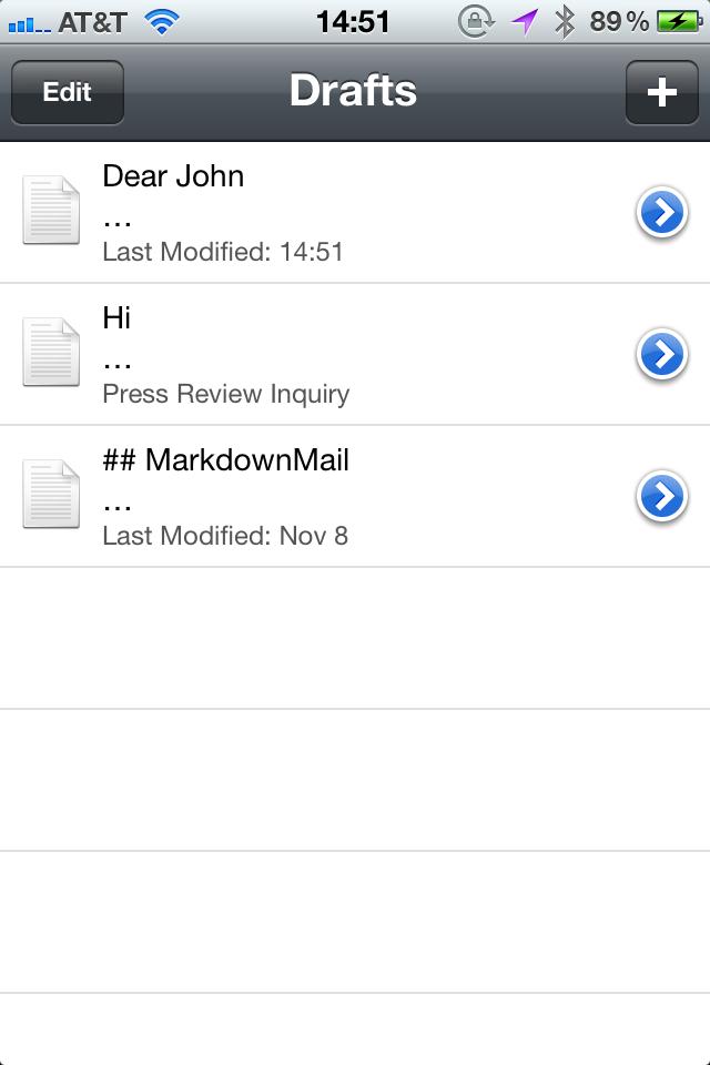 MarkdownMail - Send HTML Email screenshot #4