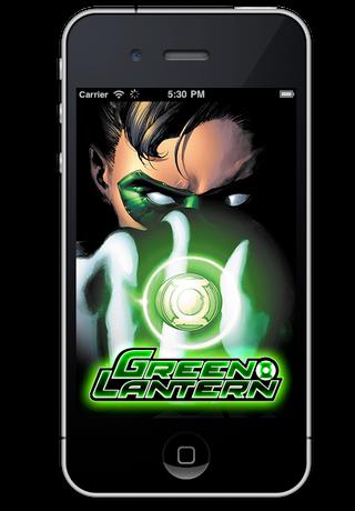 Green Lantern Comics screenshot 1