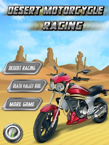 Desert Motor Bike - Motorcycle Racing in Death Valley! screenshot 2
