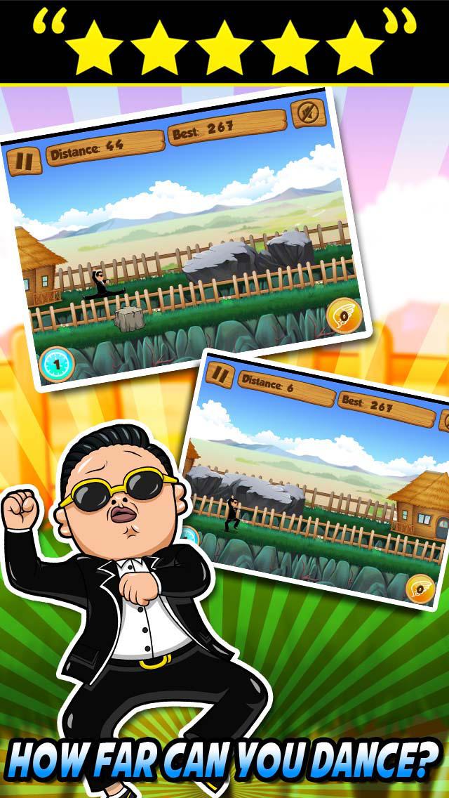 Running Gangnam Style screenshot 3
