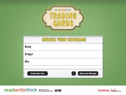 Trading Cards - náhled