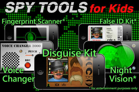 Spy Tools for Kids - náhled