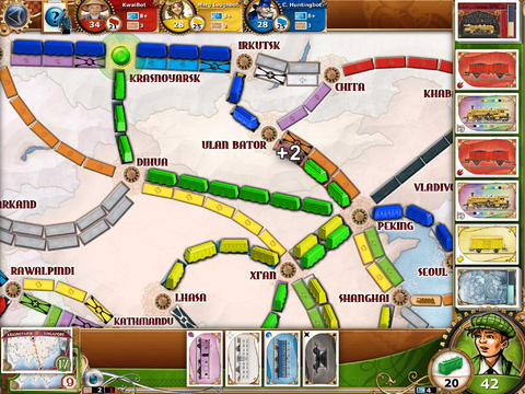 Ticket to Ride - Train Game screenshot 7