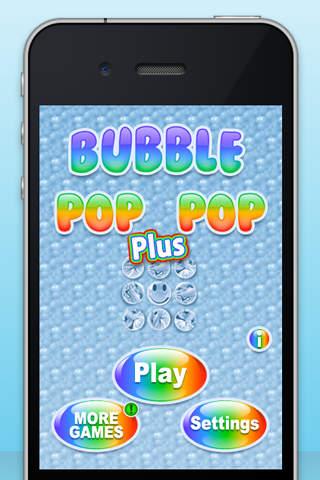 Bubble Pop Pop Plus screenshot 1