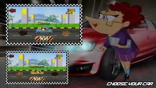 Autobahn Granny Road Racing screenshot 2