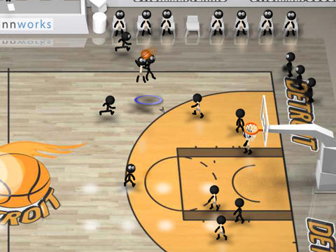 Stickman Basketball screenshot 9