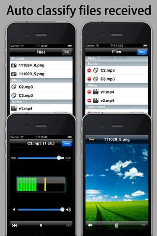 IP Messenger - náhled
