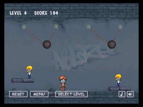 Zombies Ball screenshot 8