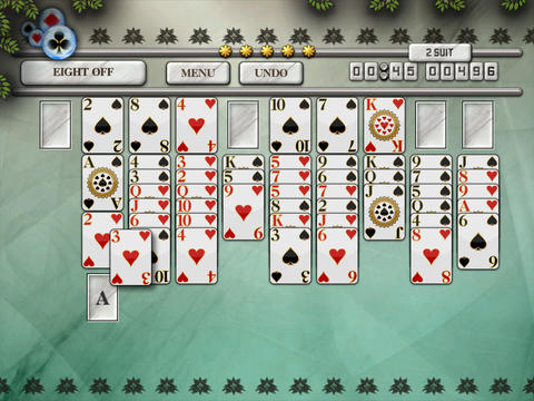 Eight Off Solitaire HD Free - The Classic Full Deluxe Card Games for iPad & iPhone screenshot 8