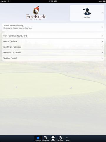 Firerock Golf Club screenshot 7