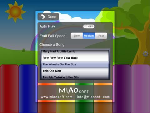 Kids Fruit Piano for iPad Lite screenshot 3