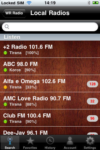 WR Albania Radio screenshot 2
