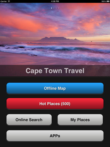 Cape Town Travel Map screenshot 6