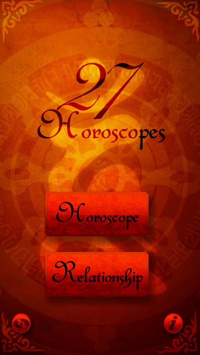 27 Horoscopes screenshot 1
