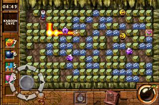 Bomberman Touch - The Legend of Mystic Bomb screenshot 2