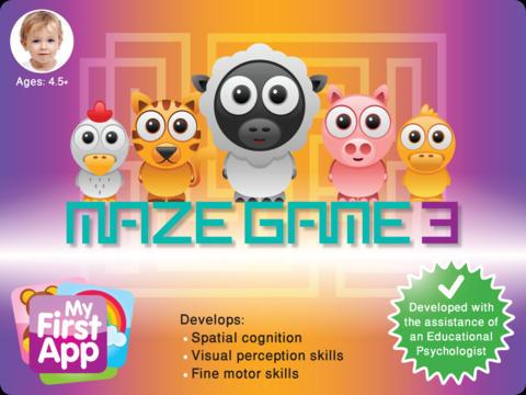 Maze Game 3 screenshot 1