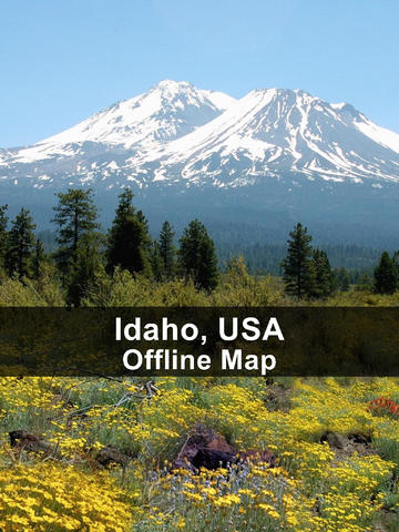 Offline Idaho, USA Map - World Offline Maps screenshot 6