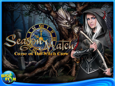 Season Match 3: Curse of the Witch Crow HD (Full) screenshot 1
