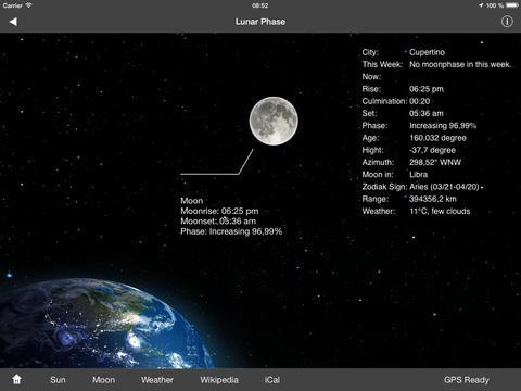 Lunar Phases screenshot 6
