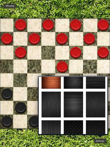 Checkers for the iPad screenshot 4