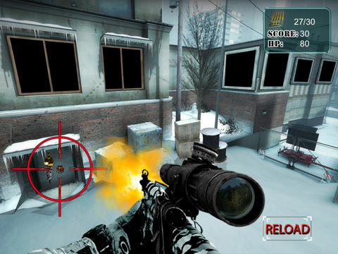 Arctic Sniper Team - Combat Demolition Strike Unit screenshot 8