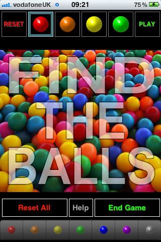 Find The Balls screenshot 1