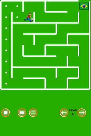 Soccer Maze - náhled