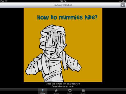 Monster Jokes - Spooky Riddles for Kids screenshot 1