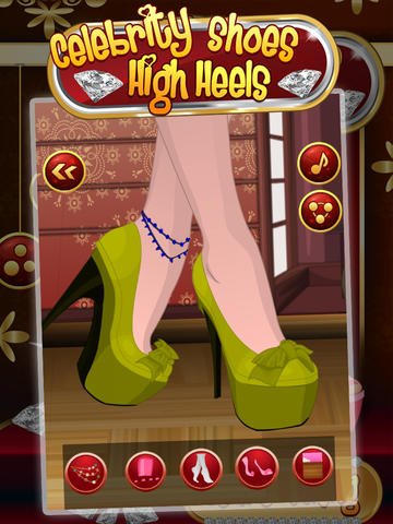 Celebrity High Heels Shoes screenshot 7