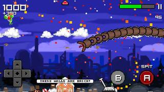 Super Mega Worm Vs Santa 2 screenshot 2