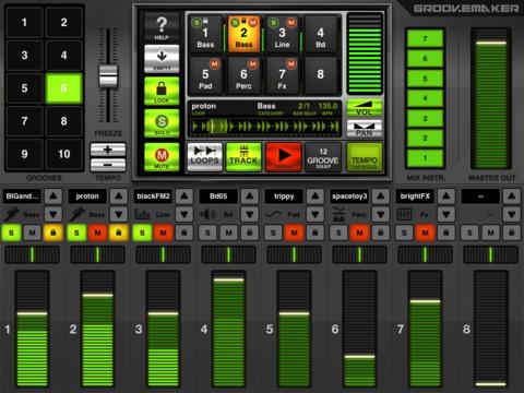 GrooveMaker Club for iPad screenshot 3