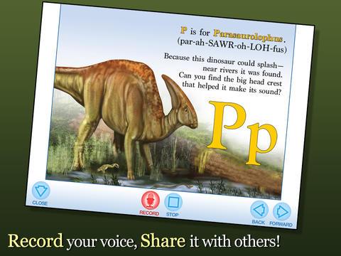 Alphabet of Dinosaurs - Smithsonian Alphabet Books screenshot 9