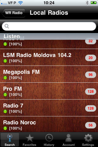 WR Moldova Radio screenshot 3