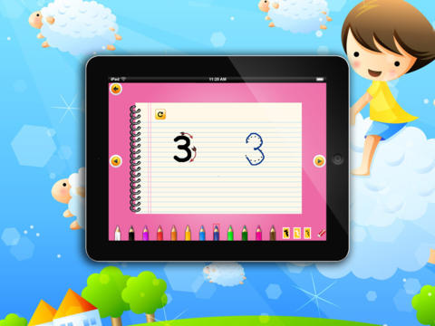 Kid's Numbers HD screenshot 9