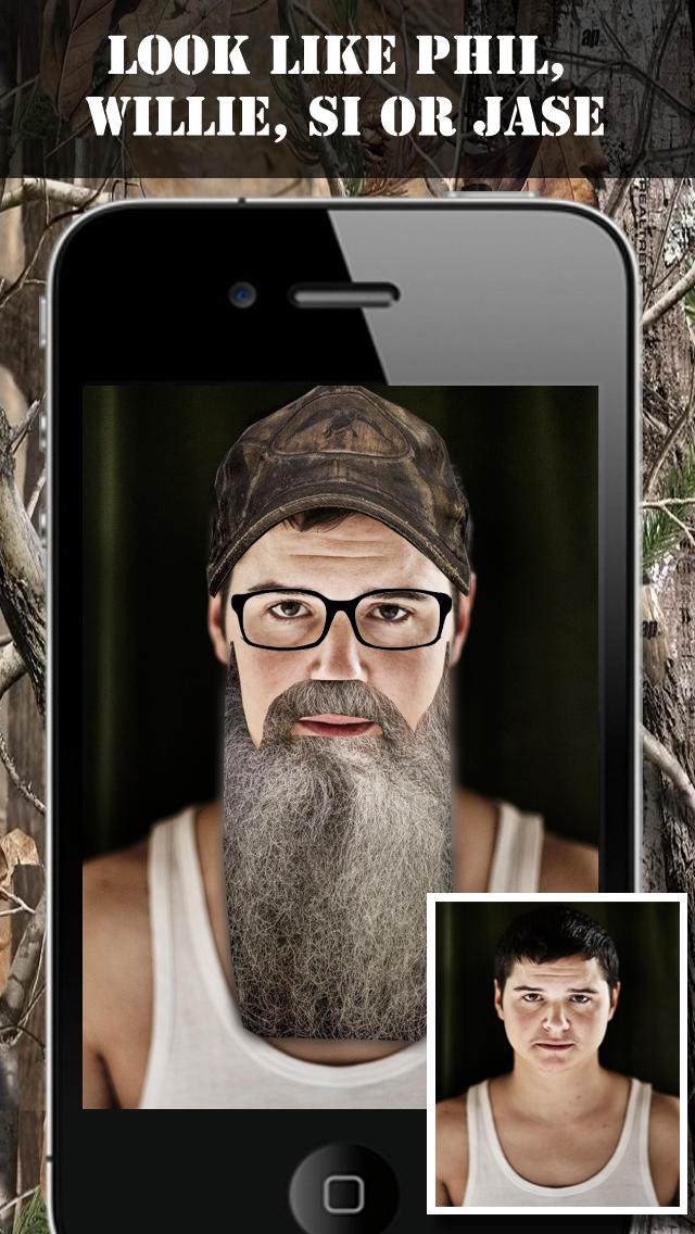 Beard Dynasty - Beard & Duck Fun Stickers screenshot 1
