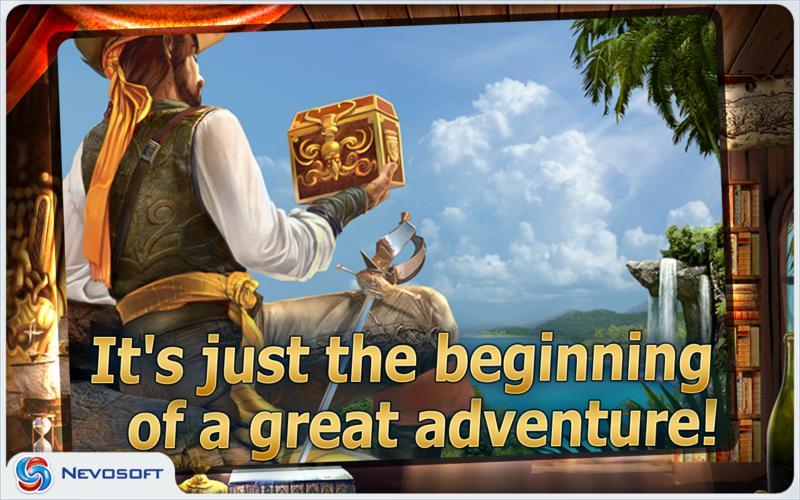 Pirate Adventures: hidden object game screenshot 5