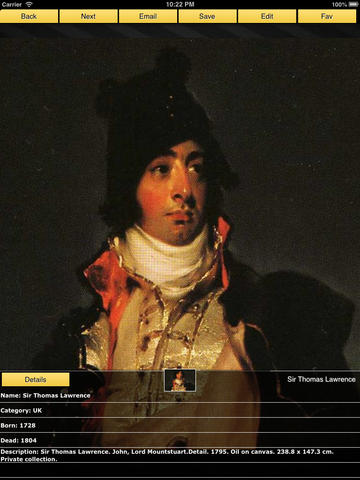 Sir Thomas Lawrence screenshot 8